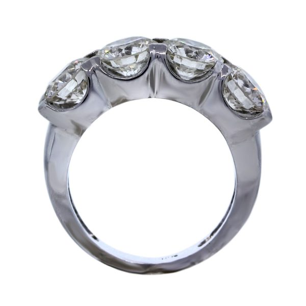 Round Diamond Wedding Band Ring Pre-Owned