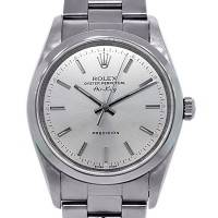 Rolex Airking 14000M Stainless Steel Domino's Collectible Watch