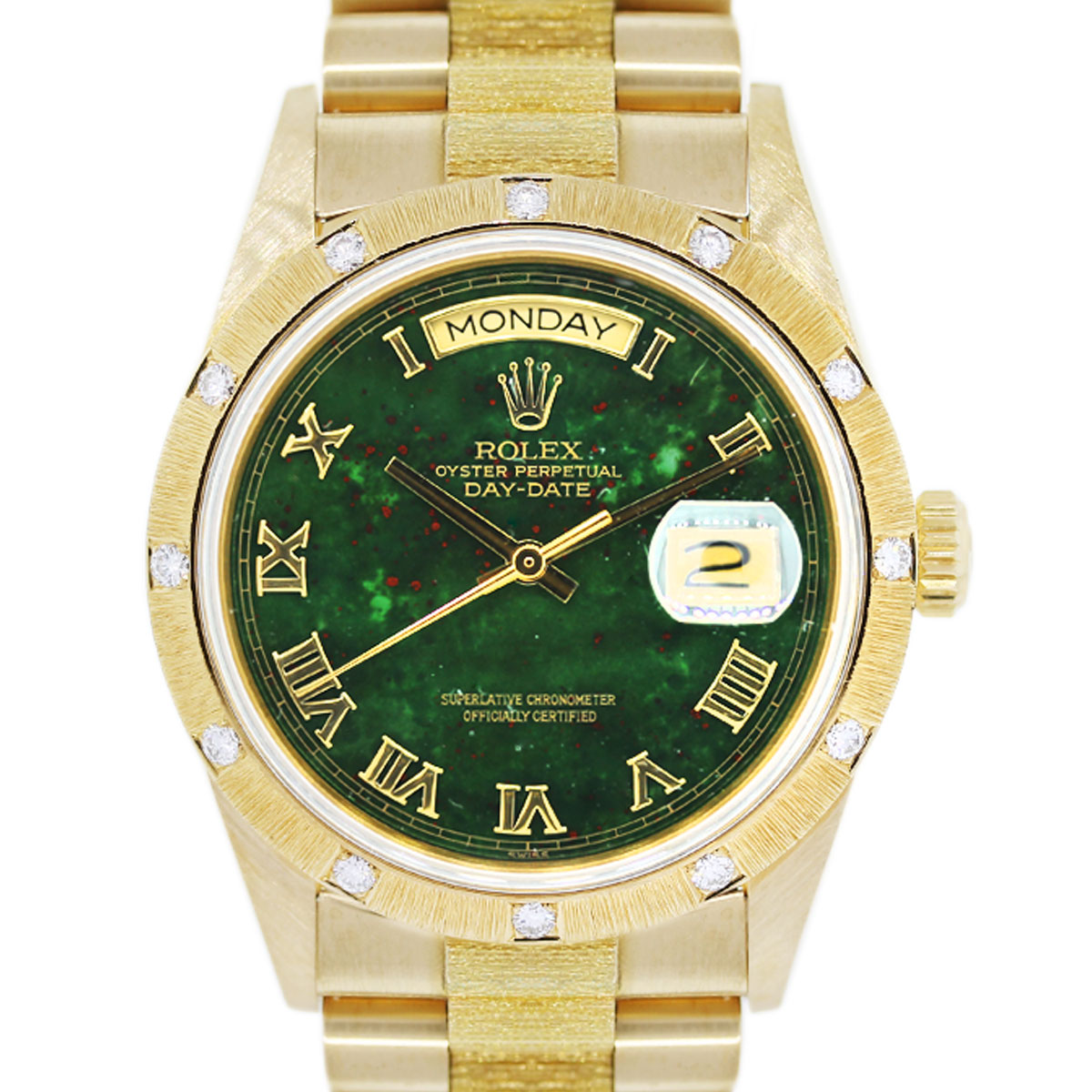 Bloodstone Rolex Mens Watch