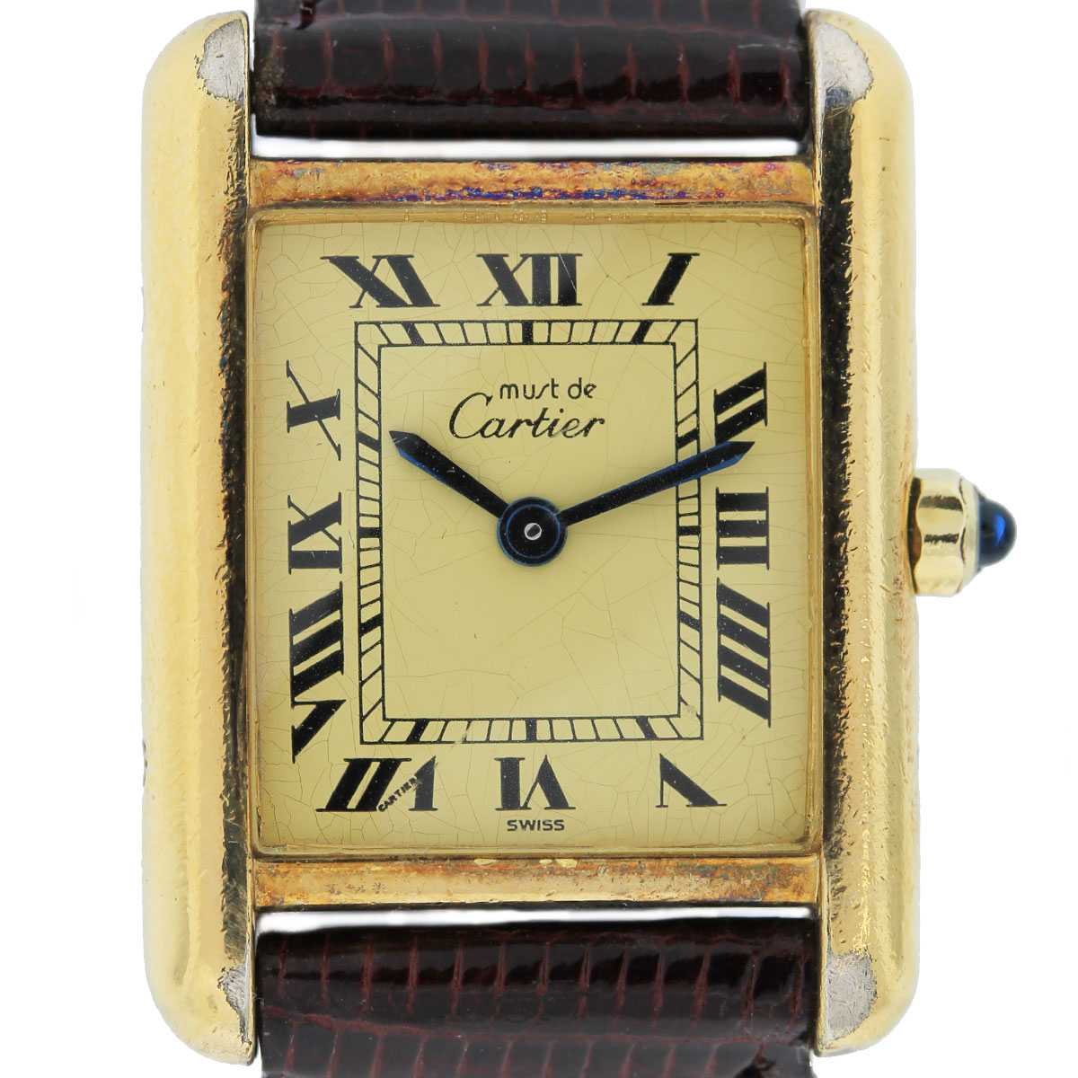 Vintage Cartier Tank 925 Vermail Ladies Watch Boca Raton