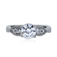 1.13ct Round Brilliant GIA Certified Engagement Ring
