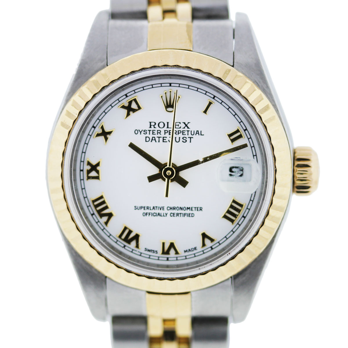 Two Tone Datejust Rolex