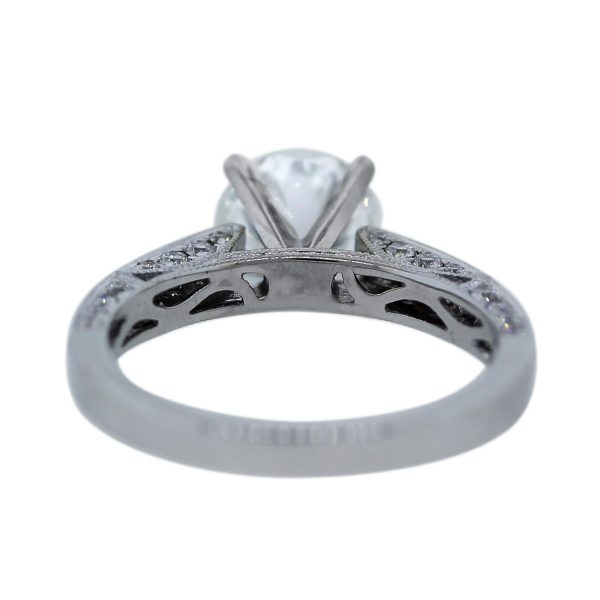 1.54Ct Solitaire Diamond Engagement Ring