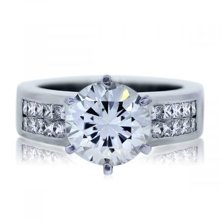 View This GIA Certified 3.48ct Round Diamond Ring Now!