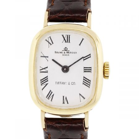 Baume & Mercier for Tiffany & Co. 14kt Yellow Gold Watch