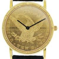 Corum Papers Gold Coin Watch