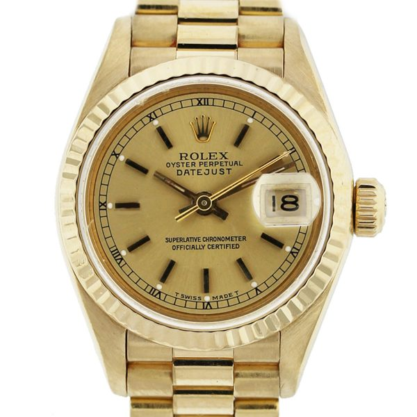 Check out this Rolex 18k Day Date 1803 Watch!
