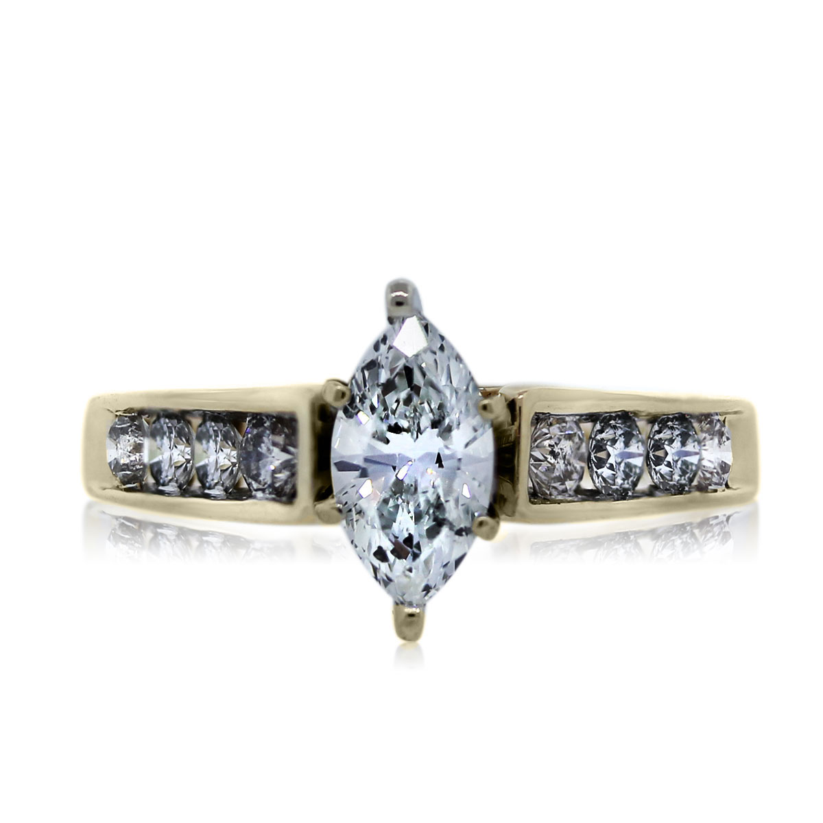 You are Viewing this Gorgeous Marquise Engagement Ring!