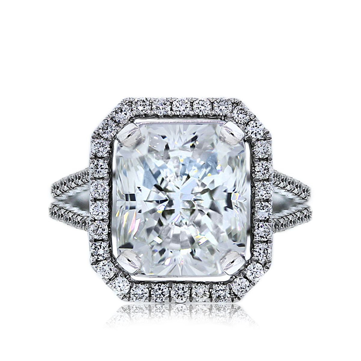 You Are Viewing This 504ct Radiant Cut Diamond Ring!