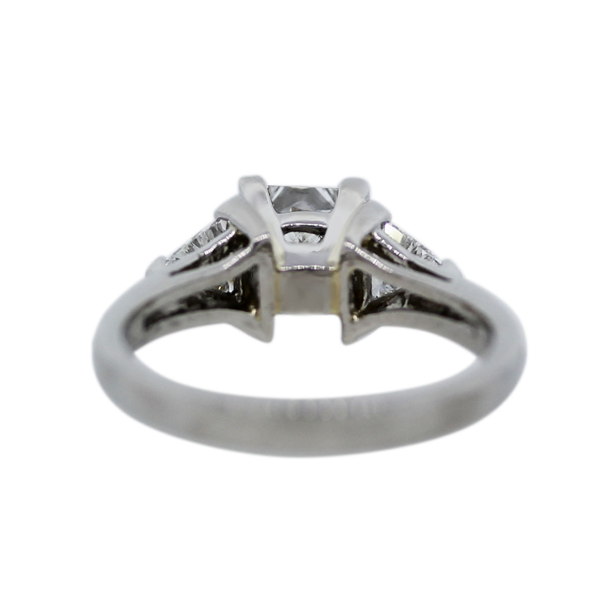 Princess Cut & Trillion Cut Diamond Ring