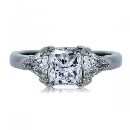 Look at This Gorgeous Three Stone Diamond Engagement Ring!