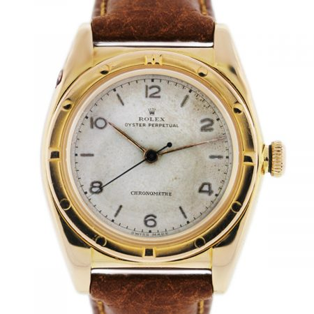 You are Viewing this Gold Rolex Bubble Back Watch