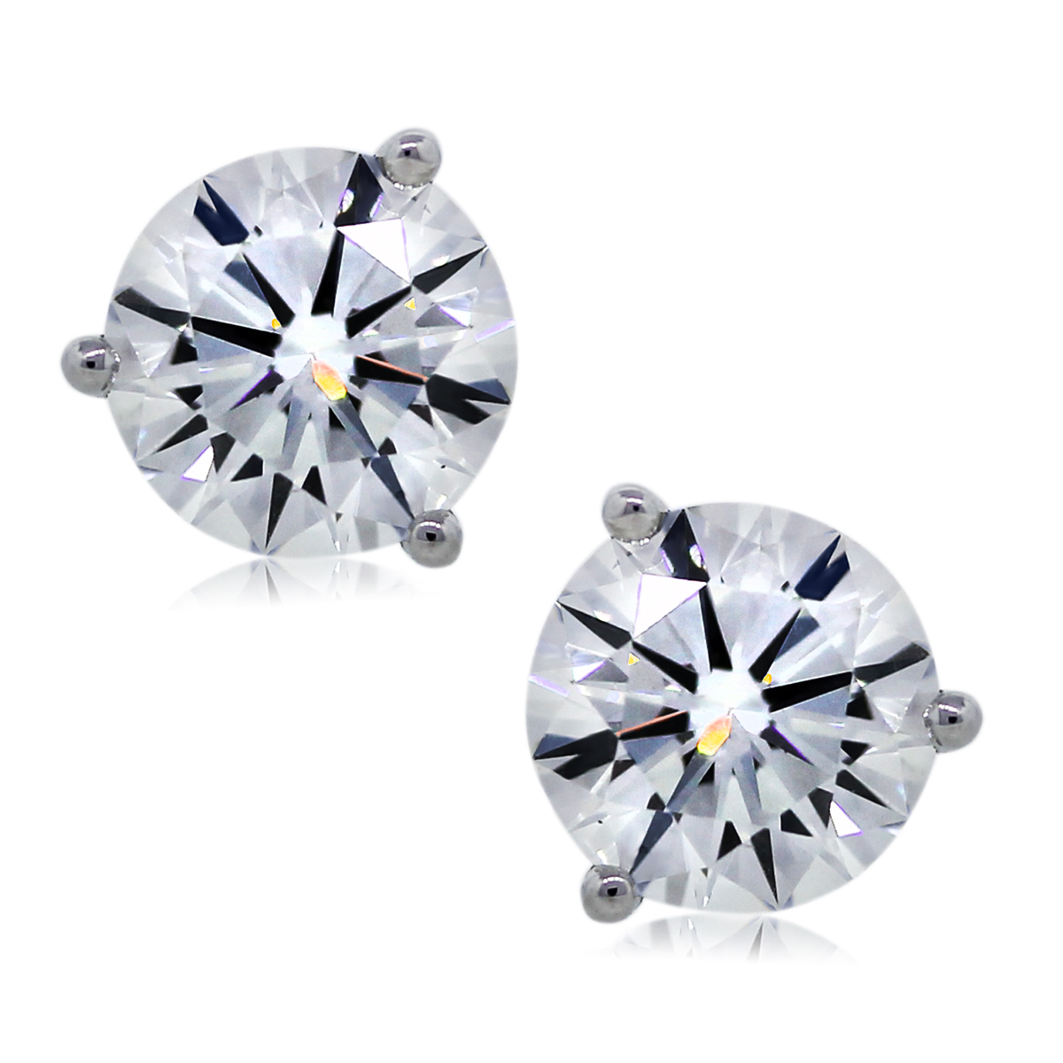 You are Viewing These 2.05ctw Diamond Stud Earrings!