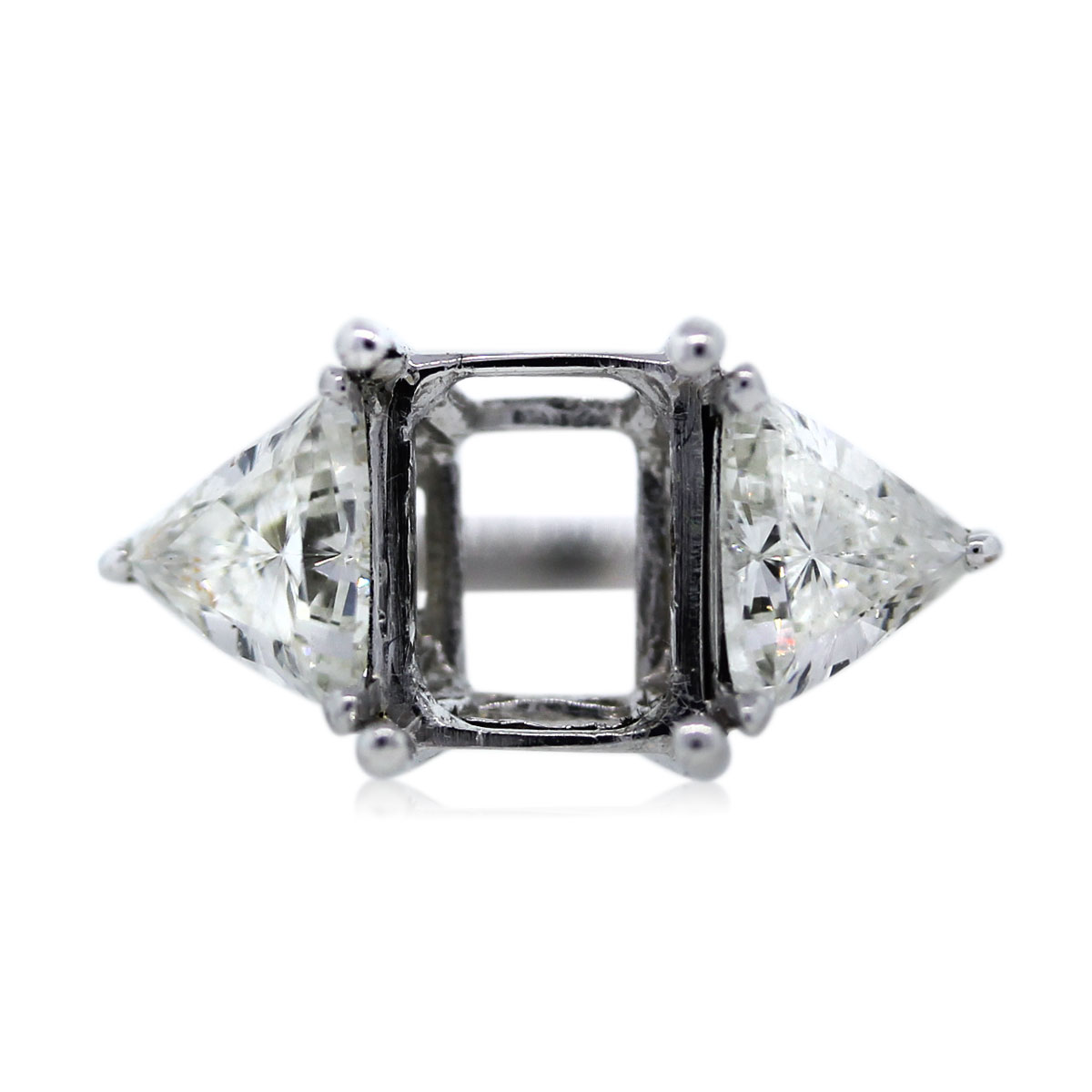 You are Viewing this Stunning Trillion Cut Diamond Ring!