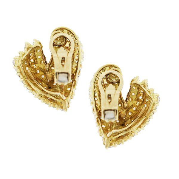 10 carat diamond earrings