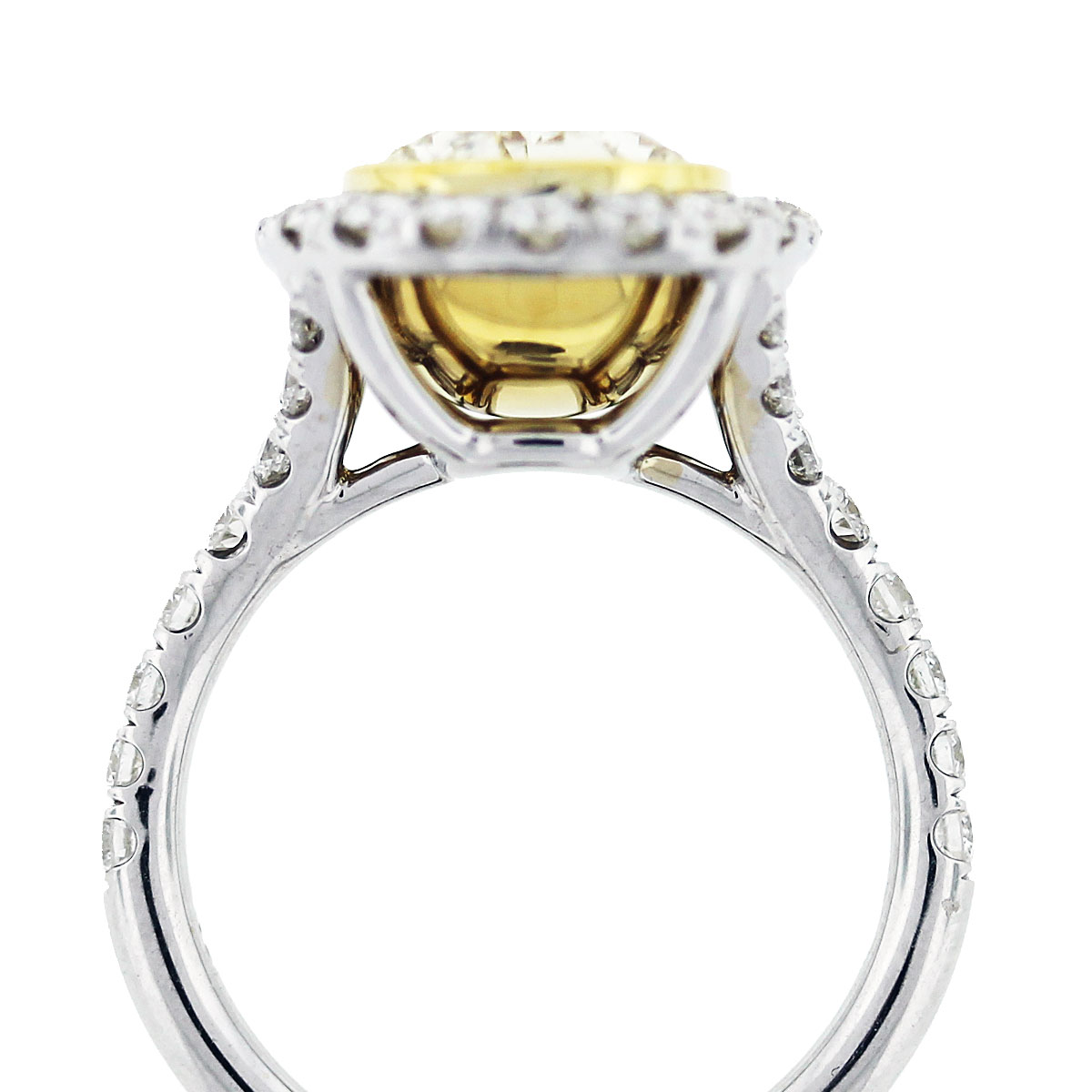 fancy yellow oval cut diamond engagement ring. Black Bedroom Furniture Sets. Home Design Ideas