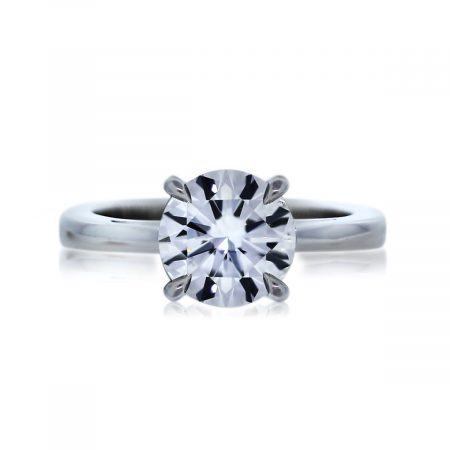 You are Viewing this 1ct Round Brilliant Diamond Ring!