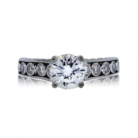You are Viewing this Stunning 1.06ct Round Diamond Ring