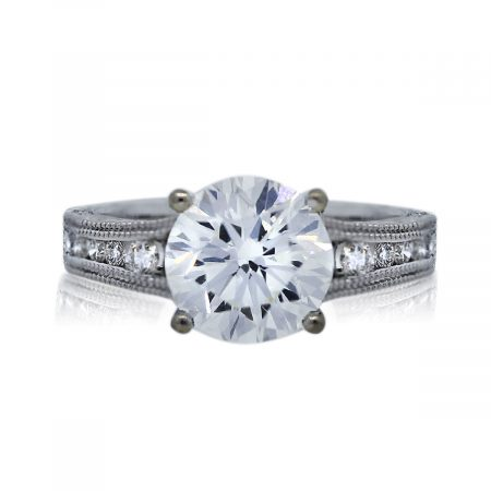 You are Viewing This 1.89Ct Round Diamond Engagement Ring!
