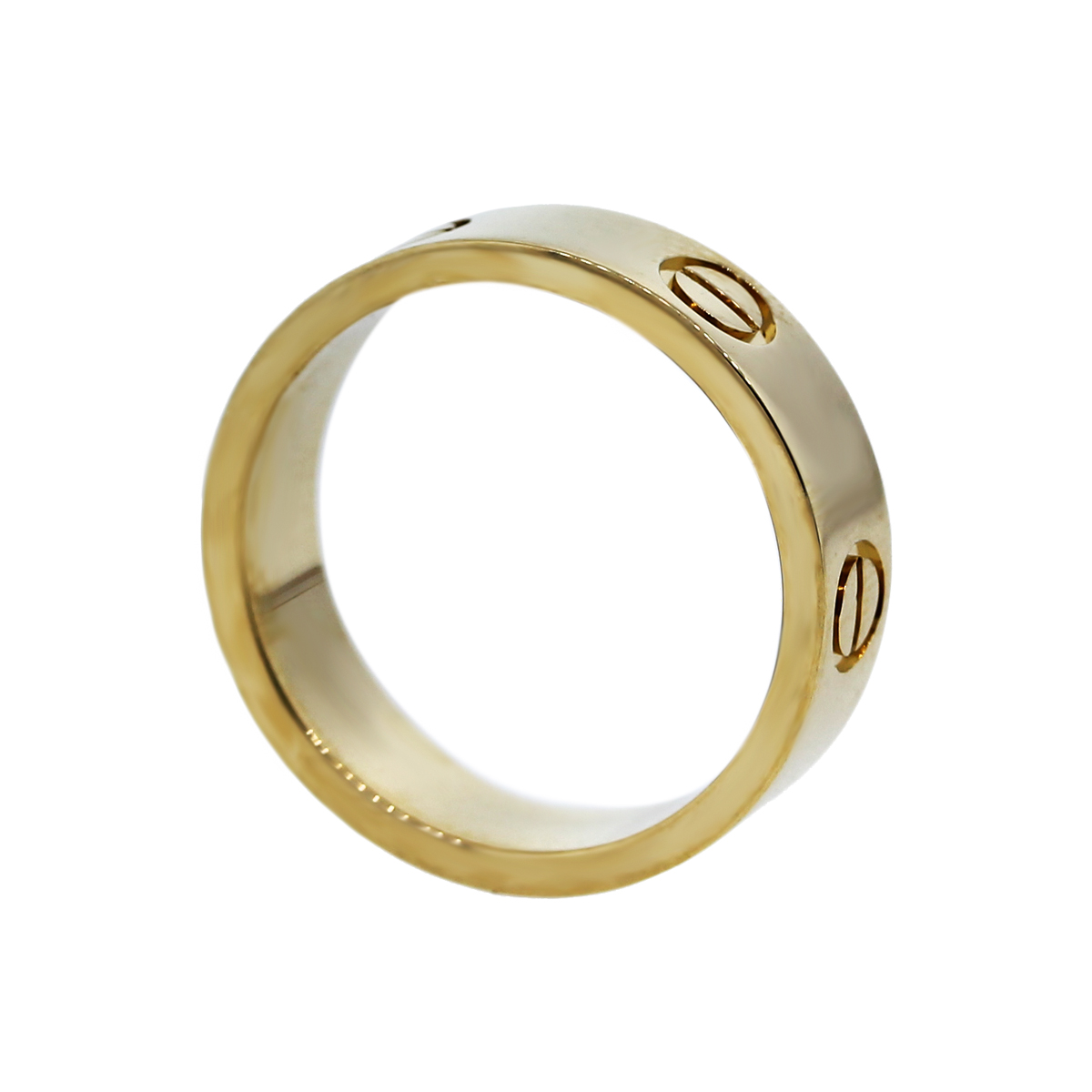 Cartier 18K Yellow Gold Love Ring Size 54-Boca Raton Cartier Love Rings