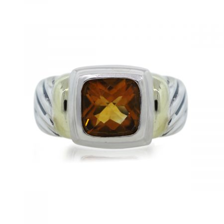 You are viewing this David Yurman Noblesse Citrine Ring
