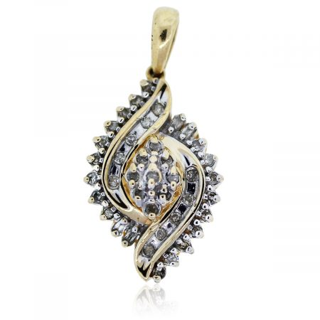 You are viewing this white gold diamond pendant!