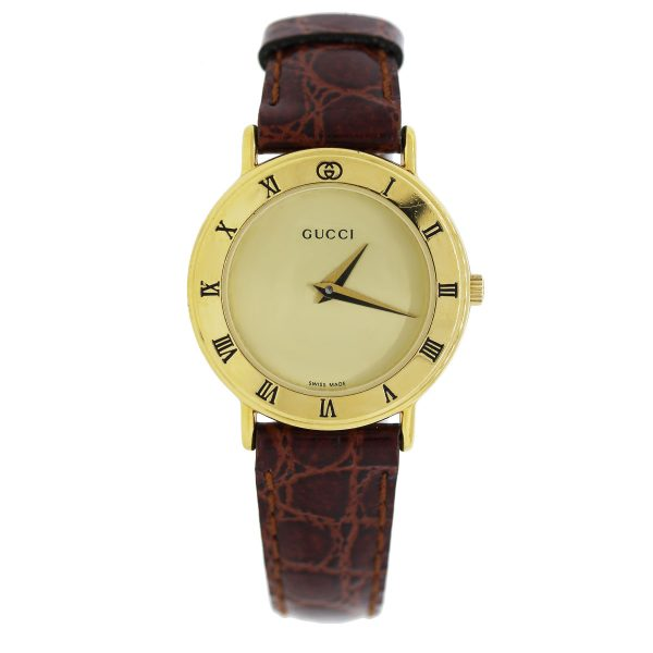 Yellow Gold Vintage Gucci Watch