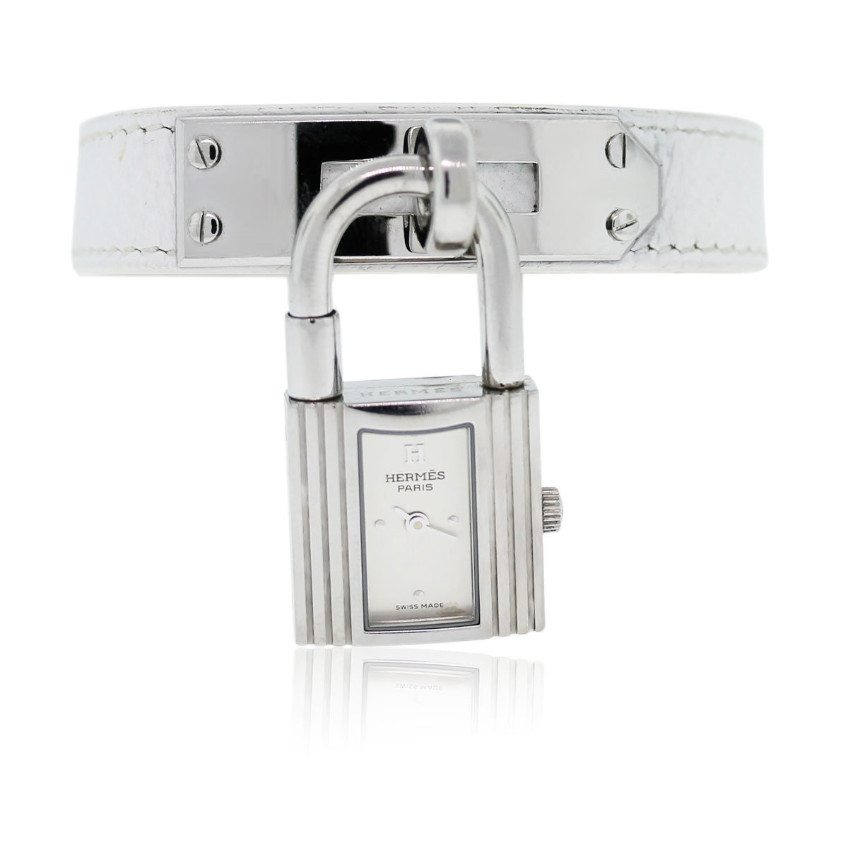 You are viewing this Hermes Kelly Lock Watch