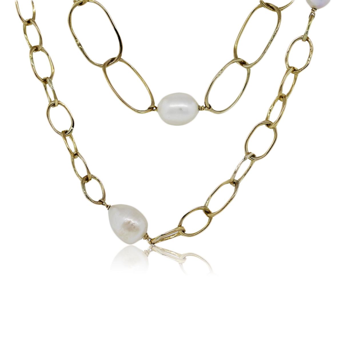 You are Viewing this Pearl Station Necklace!
