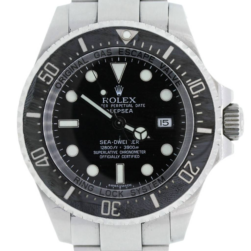 94d464abe4a Rolex Sea-Dweller Deepsea 11660 Steel Mens Watch-Boca Raton