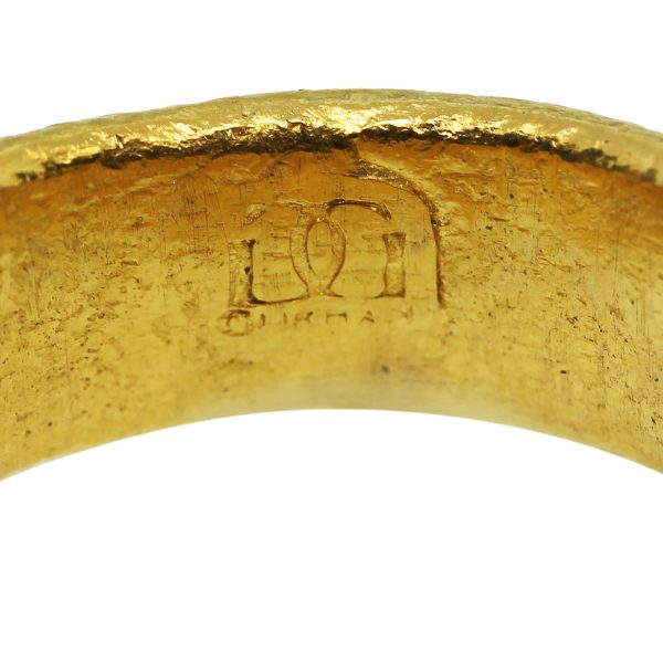 Greek Coin Yellow Gold Ring