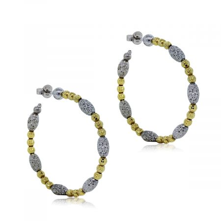 Officina Bernardi Hoop Earrings