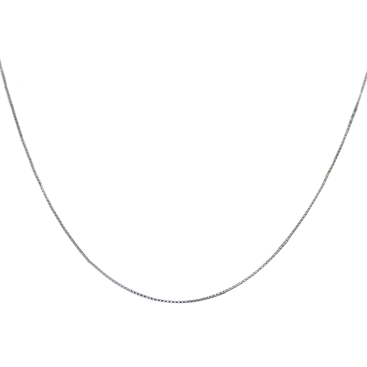 You Are Viewing This 14K White Gold Chain Necklace!