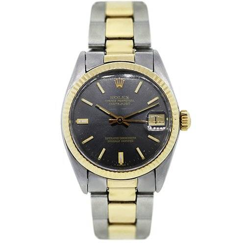 Pre Owned Rolex Oyster Perpetual DateJust Two Tone 6827