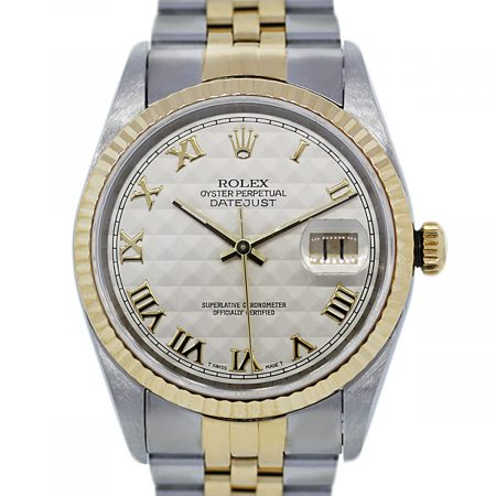 You are Viewing this Rolex Datejust 16233 Two Tone Watch