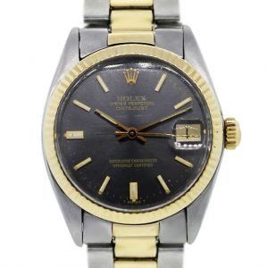 Rolex Oyster Perpetual Datejust 6827 Two Tone Mens Watch
