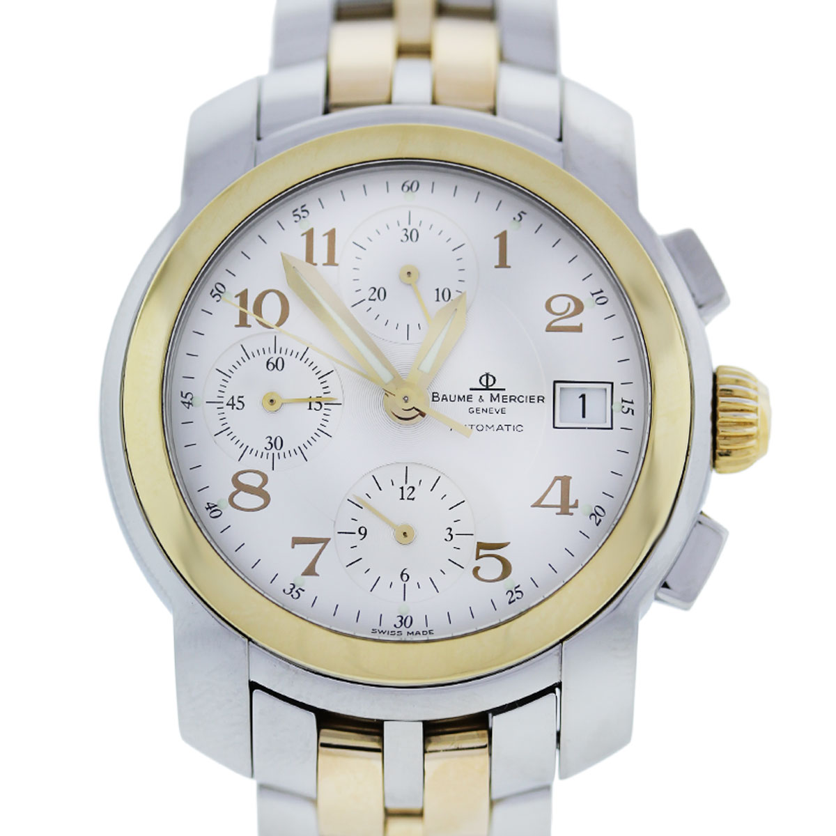 You are viewing this Baume & Mercier Capeland Two Tone Automatic Watch!