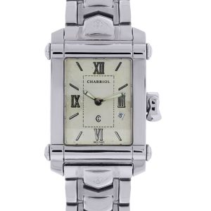 You are viewing this Philippe Charriol CCSTRH8 Stainless Steel Watch!