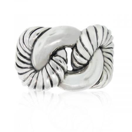 This David Yurman Sterling Silver Knot Ring is gorgeous!