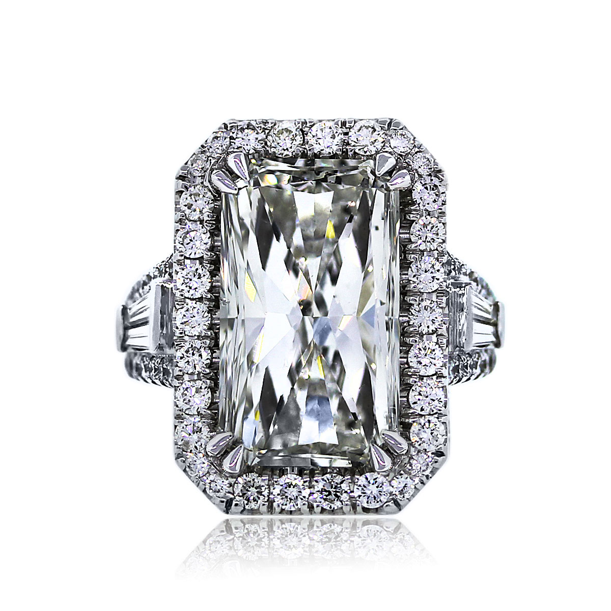 You Are Viewing This 930ct Radiant Cut Engagement Ring