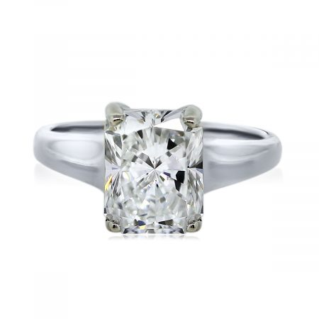 You are Viewing this 2.00ct Radiant Cut Diamond Engagement Ring!