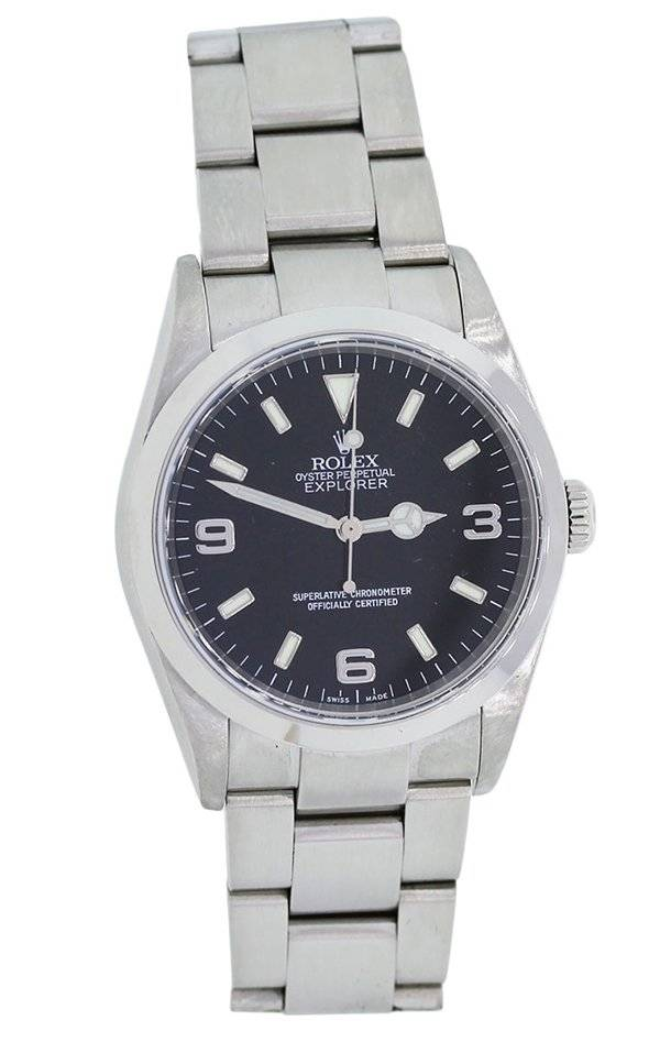 Used Rolex Oyster Perpetual Explorer