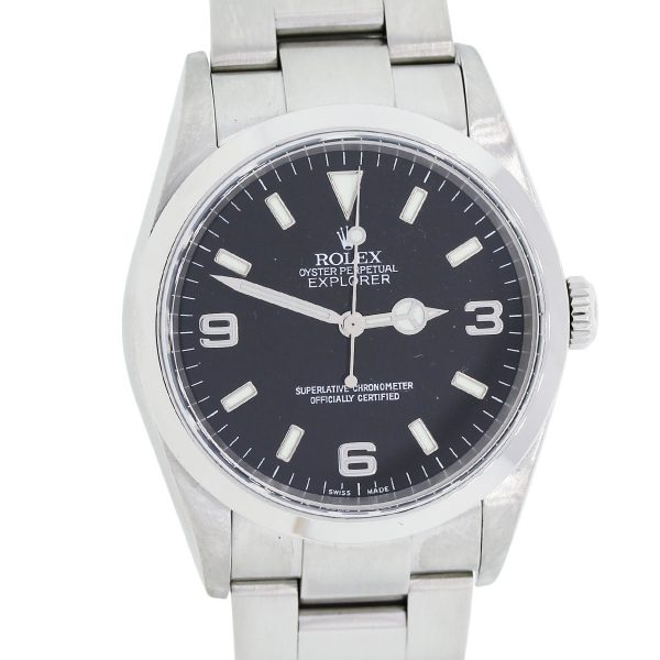 You are viewing this rolex Oyster Perpetual Explorer 214270 Stainless Steel Mens Watch!