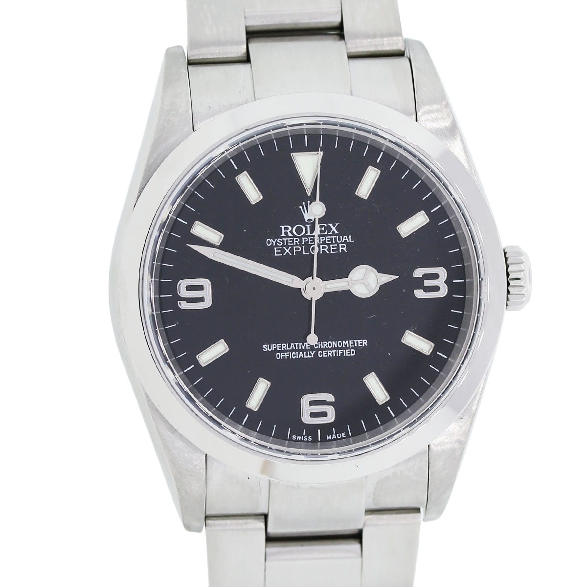 Rolex Oyster Perpetual Explorer I 214270 Stainless Steel Mens Watch