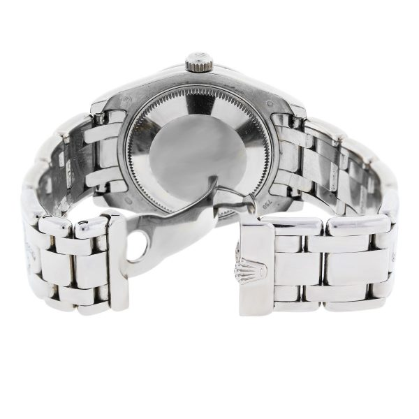Rolex Pearlmaster Pave Flamme Diamond Watch