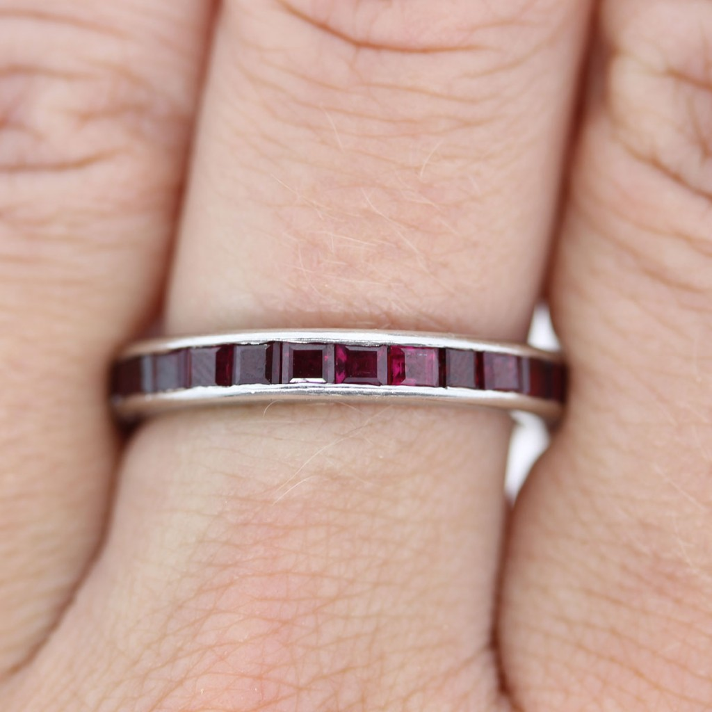 Ruby Eternity Ring Tiffany - New Image Ring Aintnoneed.Org