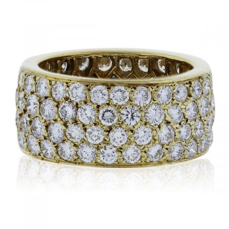 You are viewing this gorgeous Van Cleef & Arples Diamond Eternity Ring!
