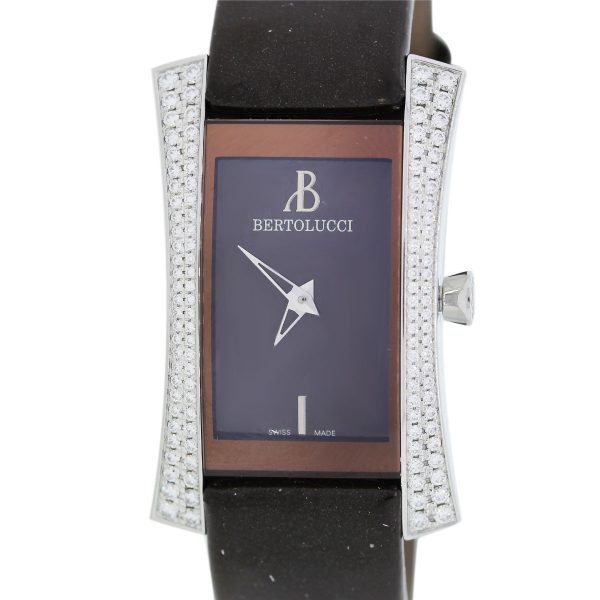 You are viewing this Bertolucci Voglia Diamond Stainless Steel Watch