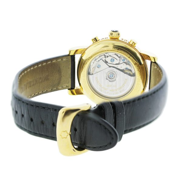 MontBlanc Meisterstruck 7001 Gold Plated Stainless Steel Watch