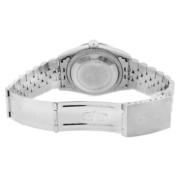 Rolex Mother of Pearl Diamond Dial Mens Watch